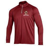 Men's Under Armour Maroon Boston College Eagles 1/4 Zip Performance Top