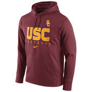 Men's Nike Cardinal USC Trojans Circuit Therma-FIT Performance Hoodie