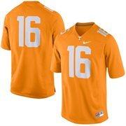 Men's Nike Tennessee Orange Tennessee Volunteers No. 16 Game Football Jersey