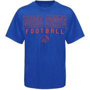 Boise State Broncos Frame Football T-Shirt - Royal Blue