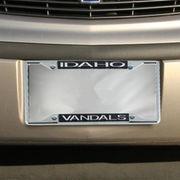 Idaho Vandals Glitter License Plate Frame - Black
