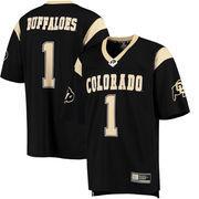Men's Colosseum #1 Black Colorado Buffaloes Hail Mary Football Jersey