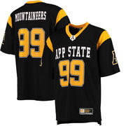 Men's Colosseum #99 Black Appalachian State Mountaineers Hail Mary Football Jersey