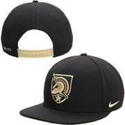 Mens Army Black Knights Nike Black Players True Performance Snapback Adjustable Hat