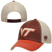 Virginia Tech Hokies Top of the World Offroad Trucker Adjustable Hat - Maroon