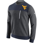 Men's Nike Charcoal West Virginia Mountaineers AV15 Fleece Sweatshirt