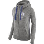 Women's Nike Gray Duke Blue Devils Vintage Full-Zip Hoodie