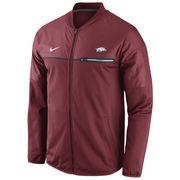 Men's Nike Crimson Arkansas Razorbacks 2016 Sideline Elite Hybrid Performance Jacket