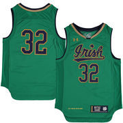 Youth Under Armour Kelly Green Notre Dame Fighting Irish Replica Basketball Jersey