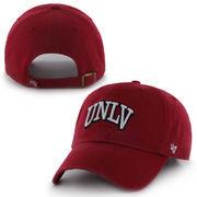 UNLV Rebels '47 Brand Clean Up Adjustable Hat - Scarlet