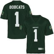 Ohio Bobcats Fan Football Jersey - Forest Green