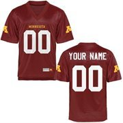 Minnesota Golden Gophers Personalized Football Name & Number Jersey - Maroon