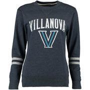 Women's Alta Gracia (Fair Trade) Navy Villanova Wildcats Relaxed Fit Rosaura Pullover Fleece Sweatshirt