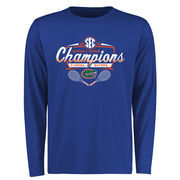 Men's Royal Florida Gators 2016 SEC Women's Tennis Champions Long Sleeve T-Shirt