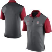 Men's Nike Gray Arizona Wildcats 2015 Coaches Preseason Sideline Polo