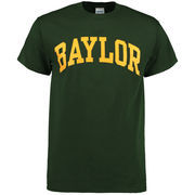 Men's New Agenda Baylor Bears Green Arch T-Shirt