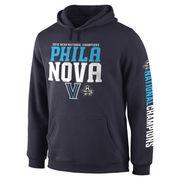 Men's Navy Villanova Wildcats 2016 NCAA Men's Basketball National Champions Phila Nova Pullover Hoodie