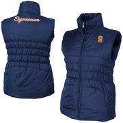 Women's Syracuse Orange Navy Blue Olympia Vest