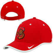Mens Cornell Big Red Nike Red Coaches Performance Adjustable Hat