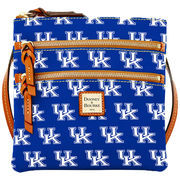 Women's Dooney & Bourke Royal Kentucky Wildcats Triple-Zip Crossbody Purse