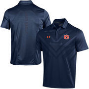 Men's Under Armour Navy Auburn Tigers Coaches Sideline Scout Polo
