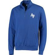 Men's Stadium Athletic Royal Air Force Falcons Logo Quarter-Zip Sweatshirt
