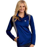 Women's Antigua Royal Air Force Falcons Delta Quarter-Zip Pullover Jacket