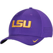 Men's Nike Purple LSU Tigers Sideline Vapor Coaches Performance Flex Hat