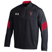 Men's Under Armour Black Texas Tech Red Raiders 2016 Sideline Mastermind Cage Jacket