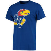 Men's adidas Royal Kansas Jayhawks Primary Logo T-Shirt