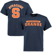 Men's Navy Syracuse Orange Mascot Logo T-Shirt