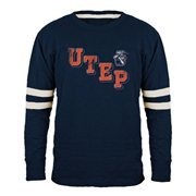 UTEP Miners Acronym Slub T-Shirt - Navy Blue