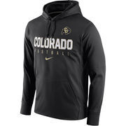 Men's Nike Black Colorado Buffaloes Circuit Therma-FIT Performance Hoodie