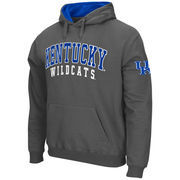 Men's Stadium Athletic Charcoal Kentucky Wildcats Double Arches Pullover Hoodie