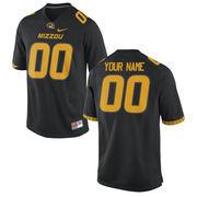 Nike Mens Missouri Tigers Custom Replica Football Jersey - Black