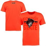 Men's Nike Orange Oklahoma State Cowboys Student Fan T-Shirt