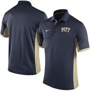 Men's Nike Navy Pitt Panthers Team Issue Performance Polo