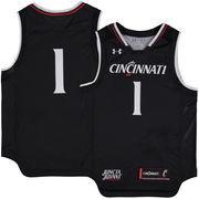 Youth Under Armour Black Cincinnati Bearcats Replica Basketball Jersey