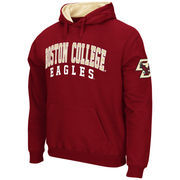 Men's Stadium Athletic Maroon Boston College Eagles Double Arches Pullover Hoodie