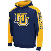 Mens Marquette Golden Eagles Thriller II Pullover Hoodie - Navy Blue