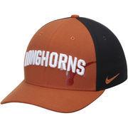 Men's Nike Texas Orange/Black Texas Longhorns Classic 99 Graphic Swoosh Performance Flex Hat