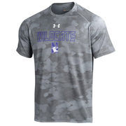 Men's Under Armour Steel Northwestern Wildcats Tech Camo Performance T-Shirt