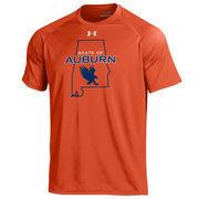 Men's Under Armour Orange Auburn Tigers State of Auburn Tiger Walk Tech T-Shirt