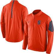 Men's Nike Orange Syracuse Orange Coaches Sideline Lockdown Half-Zip Wind Jacket