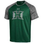 Men's Under Armour Green Hawaii Warriors Tech Performance T-Shirt