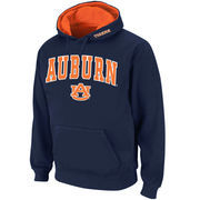 Men's Stadium Athletic Navy Auburn Tigers Arch & Logo Pullover Hoodie