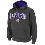 Men's Stadium Athletic Charcoal TCU Horned Frogs Arch & Logo Pullover Hoodie