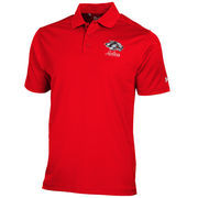 New Mexico Lobos Under Armour Cherry Solid Performance Polo