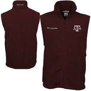 Columbia Texas A&M Aggies Flanker Vest - Maroon