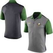 Men's Nike Gray Oregon Ducks Alternate Logo 2015 Coaches Preseason Sideline Polo